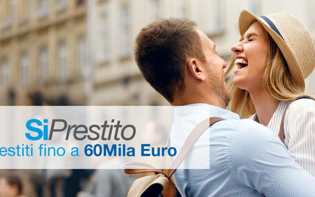 SiPrestito: prestiti personali online fino a 60.000 €